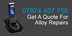 call 07974 407 756 for alloy wheel repair