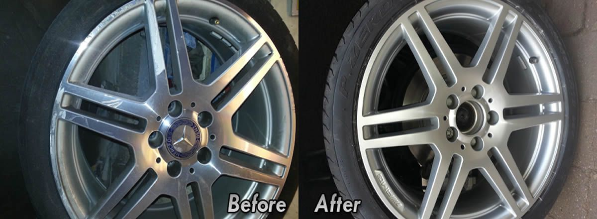 alloy wheel repair Macclesfield