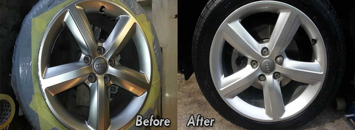 alloys refurb Macclesfield